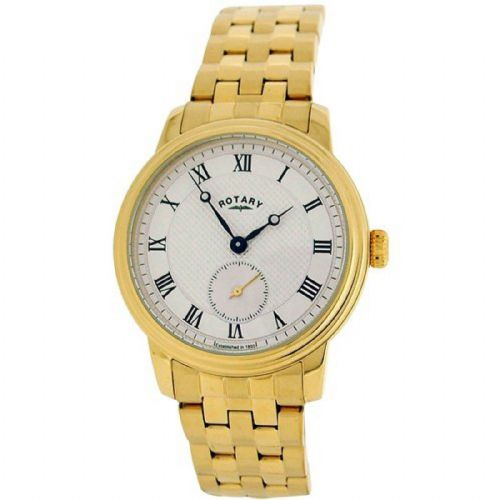 ROTARY Yellow Gold Quartz Gents Watch GB00335/06